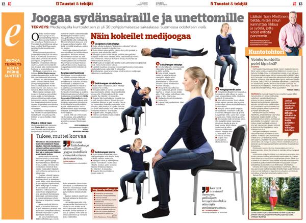 MediYoga-Iltalehti